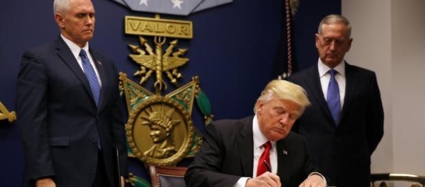 """Donald Trump dijo que hay """"grandes avances"""" en el proyecto de ... - noticiastln.com"""