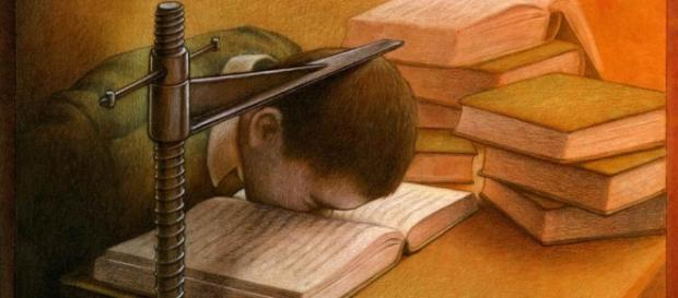 Estudar é uma aventura que leva a conhecer novos horizontes