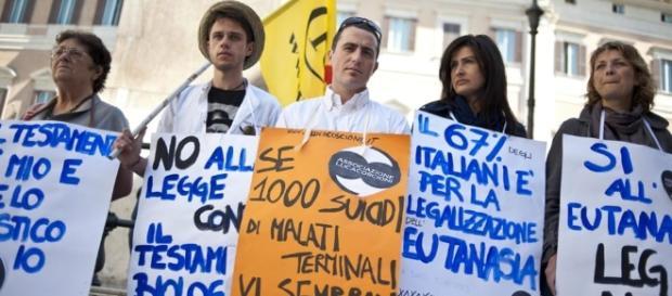 Il 13 marzo arriva alla Camera la legge sul biotestamento