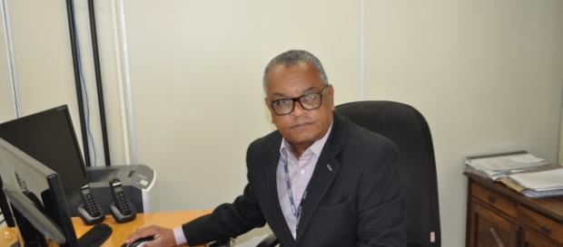 O Prefeito da Regional São Miguel, Edson Marques. ( Foto de Manoel Fernandes )