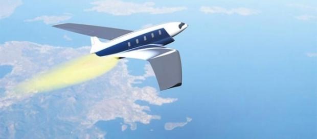 Projetista desenvolve avião para cruzar o atlântico em 20 minutos.