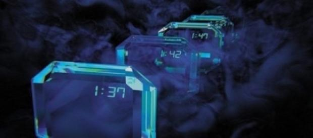 Reprezentarea grafica a cristalului temporal Sursa: Rainews