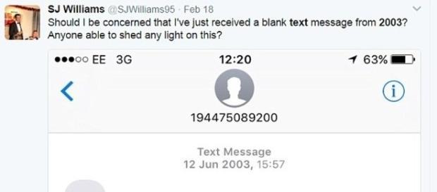 Textos datados de 2003 estão sendo enviados para indivíduos de todo o mundo (Daily Mail)