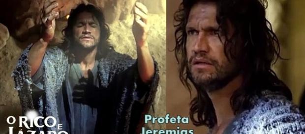 Victor Hugo interpretará o profeta Jeremias