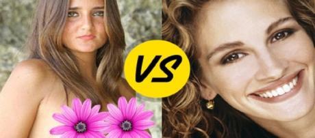 Veja as diferenças de uma mulher e uma menina