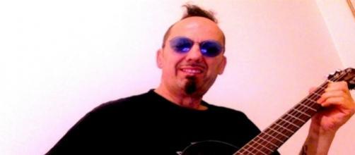Il musicista Carlo Zannetti, foto dall'autore.