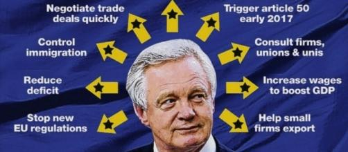 Newly appointed Brexit Secretary David Davis explains his plans to ... - thesun.co.uk