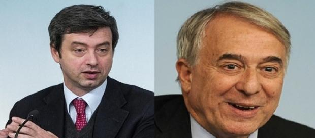 Andrea Orlando e Giuliano Pisapia parlano del nuovo centrosinistra