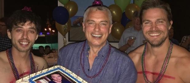 John Barrowman's 50th Birthday / via John's instagram