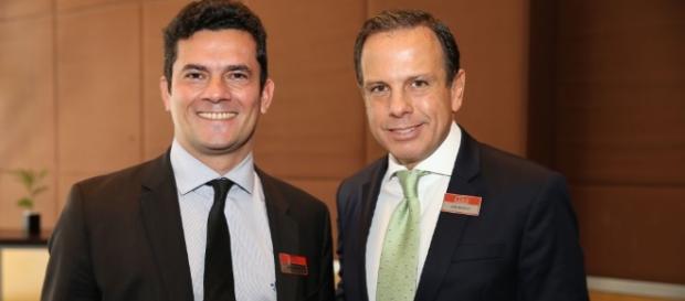Prefeito João Doria comentou sobre a Operação Lava-Jato, comandada pelo juiz Sérgio Moro