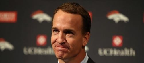 An Emotional Peyton Manning Says Goodbye To Football : The Two-Way ... - npr.org