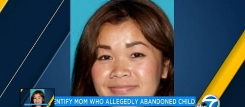 California woman abandoned her small child in a Riverside Food 4 Less