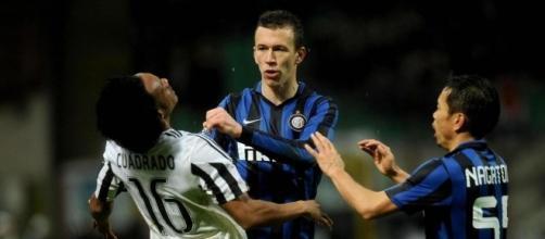 Coppa Italia, Inter-Juventus: scintille tra Perisic e Cuadrado ... - corrieredellosport.it
