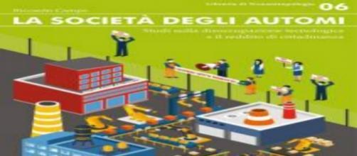 """cover libro di Riccardo Campa """"La socierà degli automi..."""" D-Editore"""