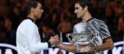 Federer and Rafa Nadal turned back the clock at the Australian ... - telegraph.co.uk