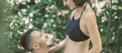 Junior Lima e Monica Benini: doce espera por Otto (Foto: Instagram/Reprodução)