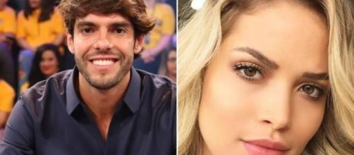 Kaká faz anúncio de noivado nos EUA