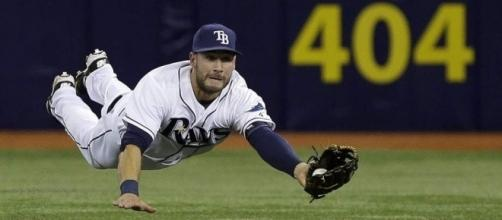 Kiermaier: Winning Gold Glove 'most satisfying feeling ever' | TBO.com - tbo.com