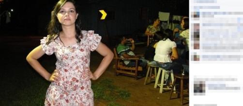 Simone foi assassinada brutalmente pelo seu aluno