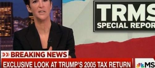 Twitter rolls its eyes at Rachel Maddow's Trump tax return reveal ... - sfgate.com