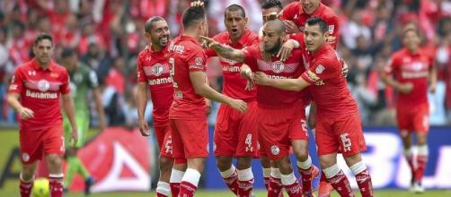 Toluca entre los equipos más agresivos de la liga MX