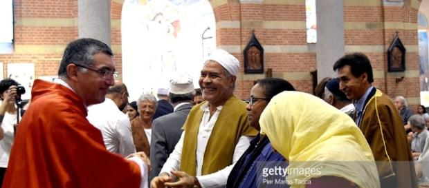 Muslim Communities Express Solidarity For Murdered French Priest ... - gettyimages.com