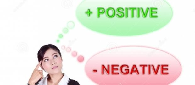 Nada de negatividade: o importante é pensar positivo sempre