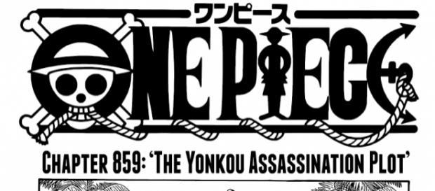 """""""One Piece"""" Chapter 859: The Yonkou Assassination Plot (http://mangakayo.com/manga/one-piece/859)"""