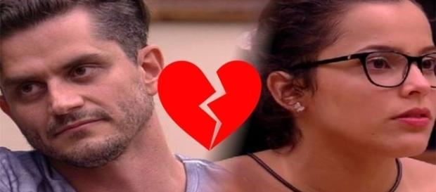 Será o fim do namoro entre Marcos e Emilly?