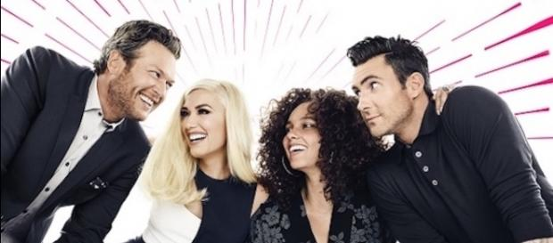 The Voice season 12 coaches via buddytv.com