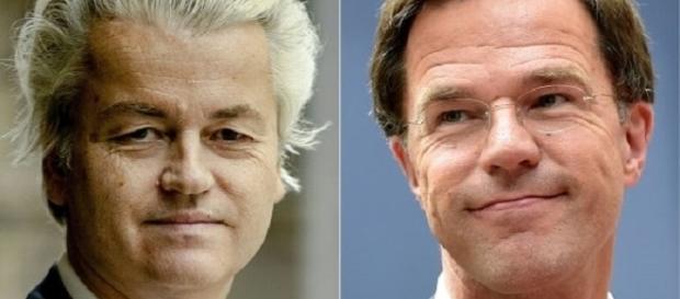 Wilders e Rutte, principali candidati alle elezioni parlamentari in Olanda