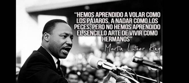Discriminación de Martin Luther King al Ni una menos