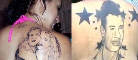 Fãs que tatuaram seus ídolos no corpo