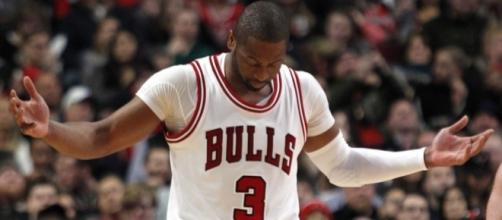 Dwyane Wade might be done for the year, as the Bulls are on the outside looking in forthe playoffs - usatoday.com