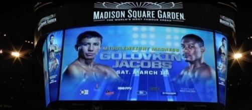 Golovkin vs Jacobs via Youtube, GTVBOXING channel https://www.youtube.com/watch?v=xgdLUEPKhhQ