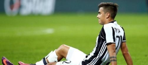 Infortunio Dybala in Sampdoria-Juventus: l'argentino salta il Napoli?
