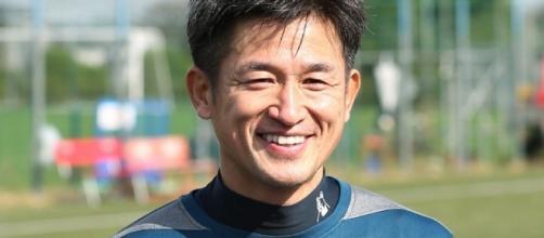 Japanese striker Kazuyoshi Miura signs new contract to play into ... - eurosport.co.uk