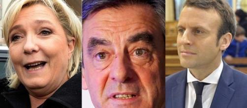 Le Pen, Fillon e Macron: reta final da eleição esquenta o debate entre os principais candidatos à presidência da França