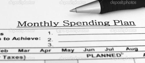 Monthly budget plan — Stock Photo © alexskopje #6598366 - depositphotos.com