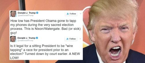 Trump: Obama Wiretapped My Office - Joe.My.God. - joemygod.com