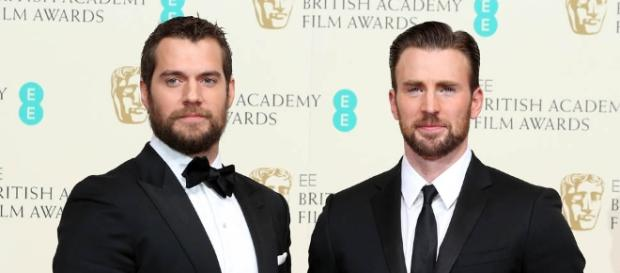 Chris Evans and Henry Cavill at the BAFTAs 2015|Lainey Gossip ... - laineygossip.com