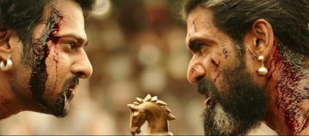 Prabhas and Rana from 'Bahubali 2' movie