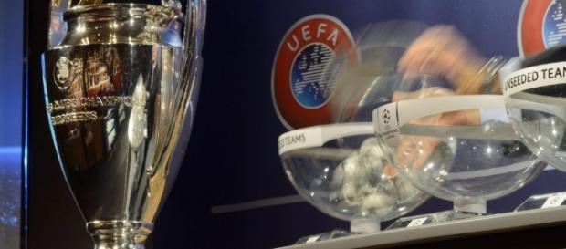 Sorteggi Champions League streaming diretta tv
