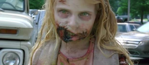 Summer, a garotinha zumbi do primeiro episódio de The Walking Dead