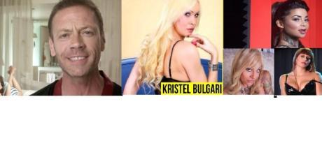 Rocco Siffredi, Kristel Bulgari, Elena Grimaldi, Blonde e Pamela Lolli