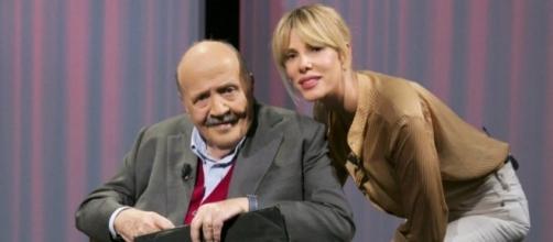 Alessia Marcuzzi protagonista de L'Intervista di Maurizio Costanzo