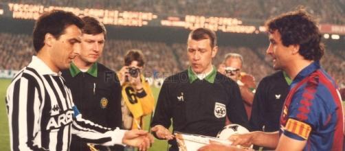 Gaetano Scirea nella sfida di Coppa dei Campioni 1985/86
