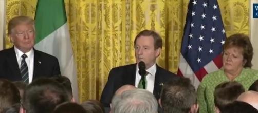 Irish PM at White House, via Twitter