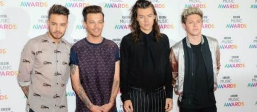 Liam, Louis, Harry e Niall, da One Direction