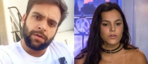 O ex-namorado de Emilly faz desabafo revelador sobre a sister